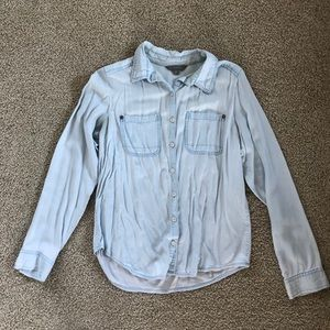 Rubbish Chambray Button Up